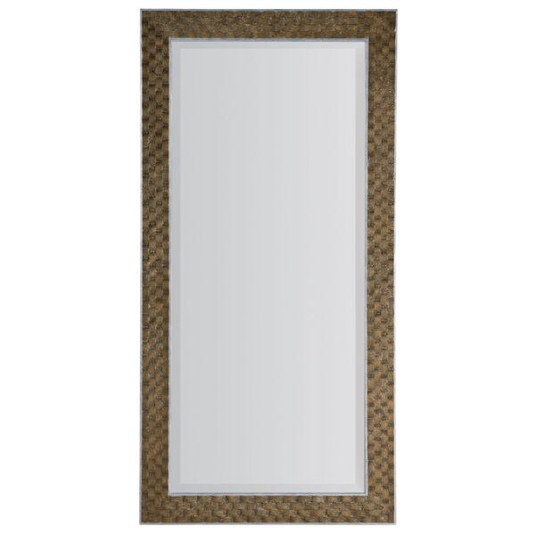Sundance Dark Brown and Silver Floor Mirror, image 1