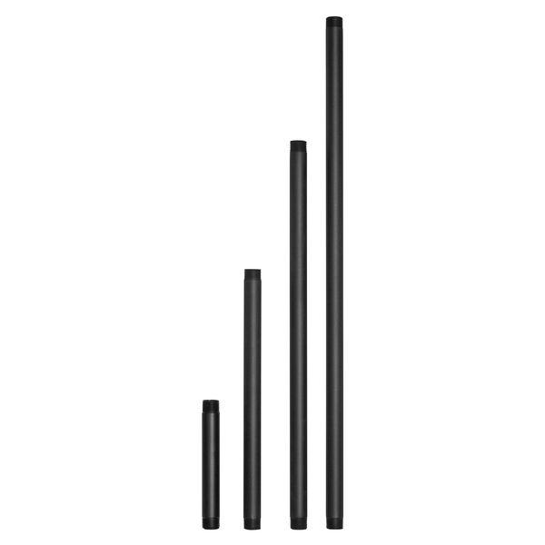 Black 12-Inch Landscape Path Stem, image 1