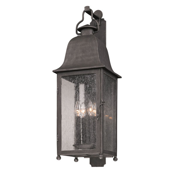 Aged Pewter Larchmont Four-Light Wall Mount, image 1