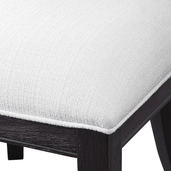 Idris Charcoal Black Accent Chair, image 5