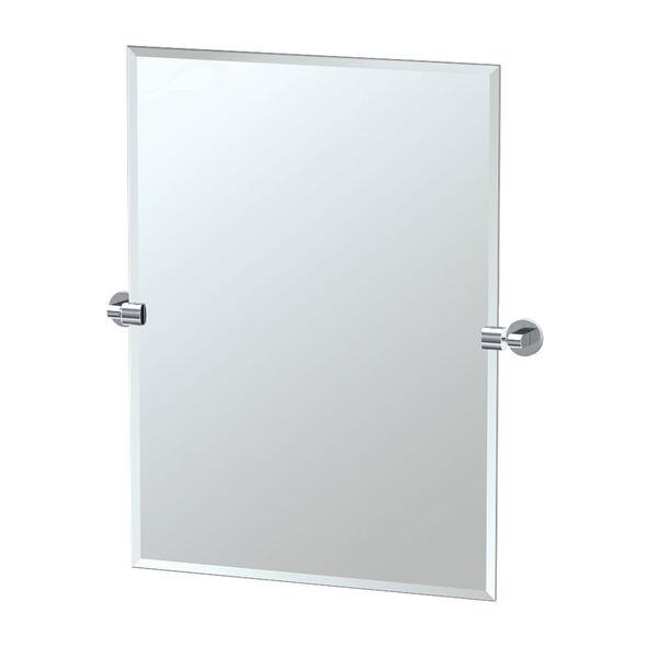 Zone Chrome Tilting Rectangular Mirror, image 1