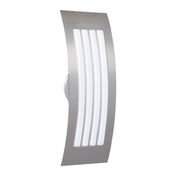 Sail Silver Two-Light ADA Wall Sconce With Opal Matte Glass, image 1