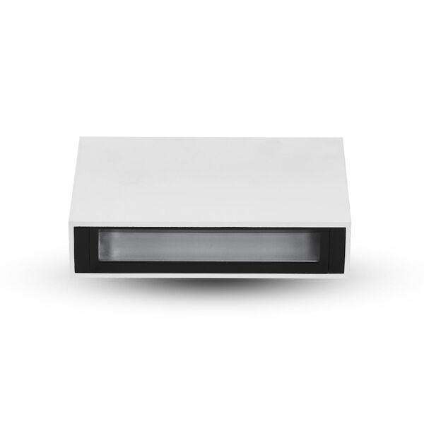 Slice White LED Recessed Wall Washer, image 1