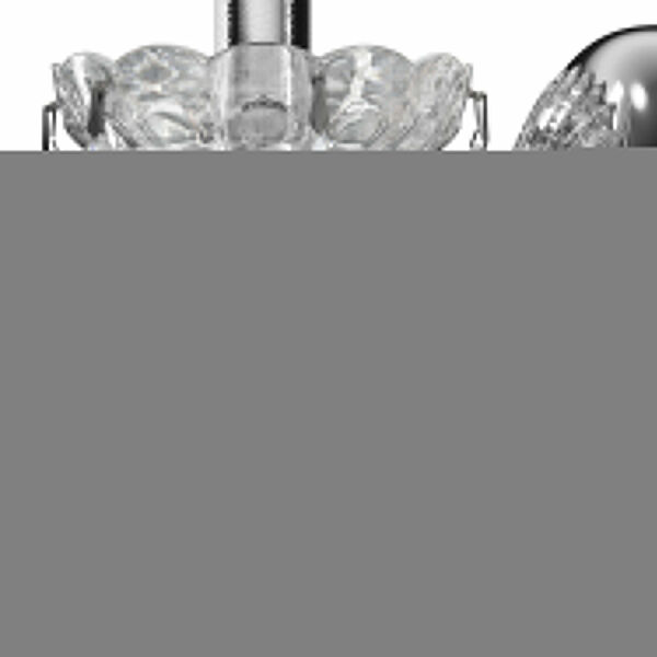 Century Polished Silver One-Light Wall Sconce, image 4
