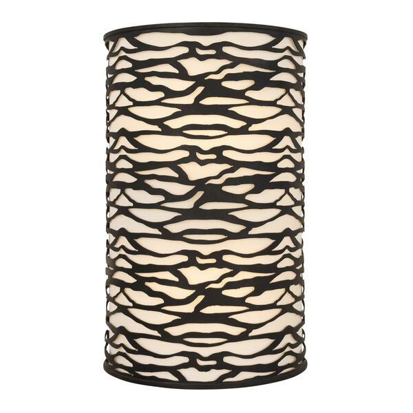 Kato Carbon Black Two-Light Wall Sconce, image 5