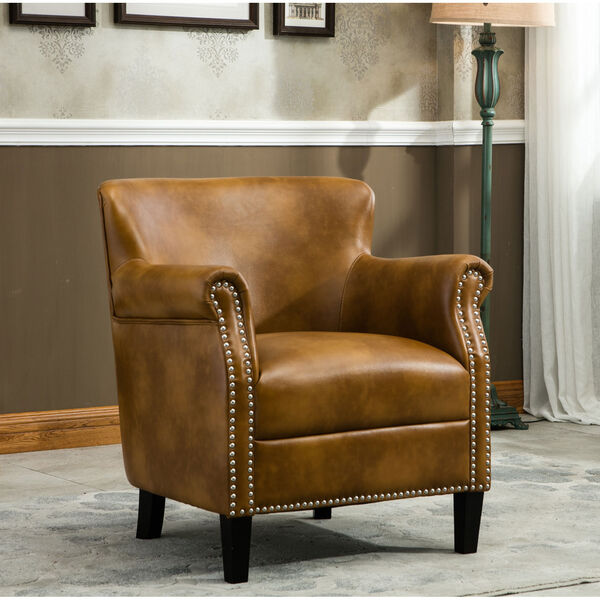 Holly Camel Club Chair, image 1