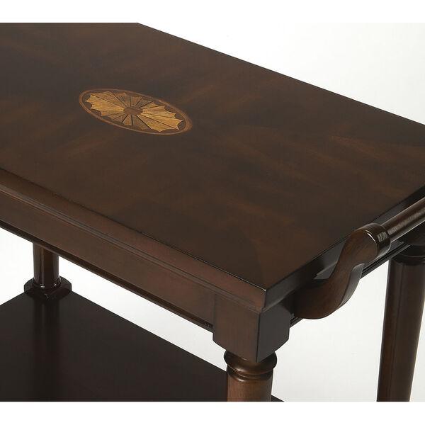 Brown Bar Cart, image 3