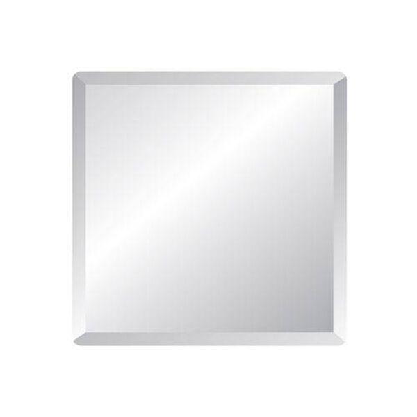 Regency 36-Inch Square Beveled Edge Mirror, image 1