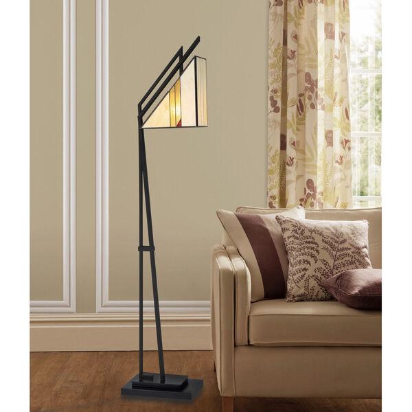 Verda Black One-Light Floor Lamp, image 3