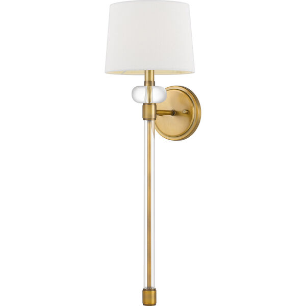 Barbour Weathered Brass One-Light Wall Sconce, image 1