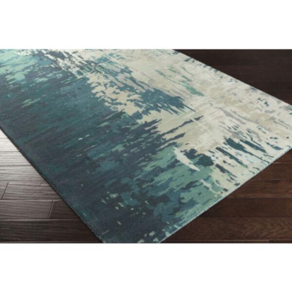 Banshee Blue Rectangular Rug, image 4