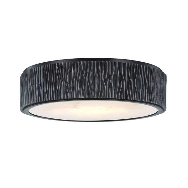 Crispin Polished Nickel 13-Inch LED Flush Mount, image 2