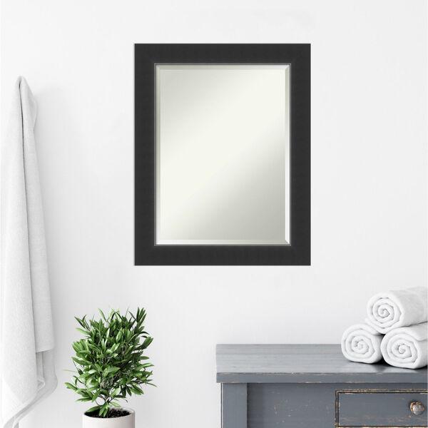 Corvino Black 23W X 29H-Inch Bathroom Vanity Wall Mirror, image 5