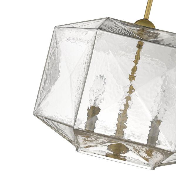 Loft Brass Three-Light Pendant, image 5