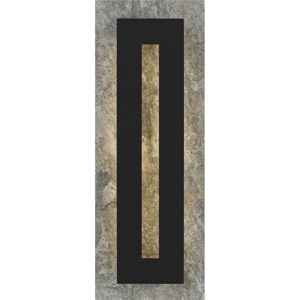 Tate Earth Black 22-Inch LED Outdoor Wall Mount, image 3