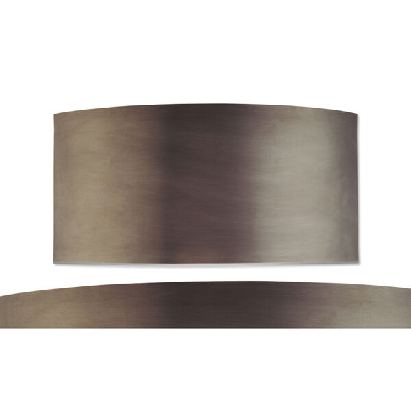 Dianelli Shield Rubbed Bronze Two-Light Wall Sconce, image 2