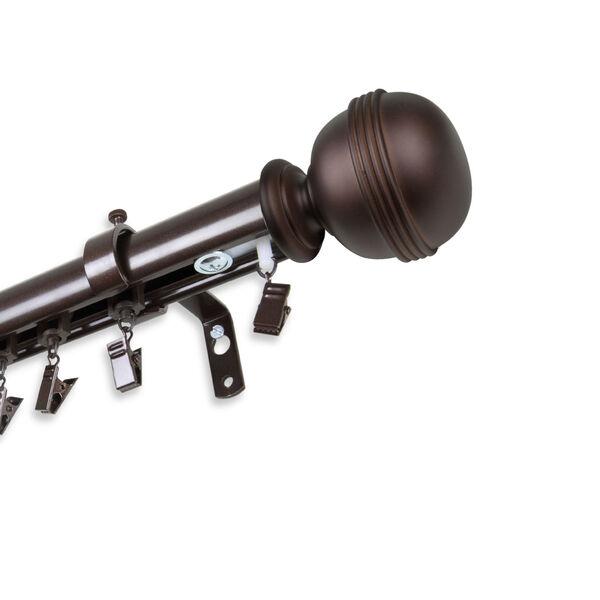 Jovian Cocoa 120-Inch Traverse Rod, image 1