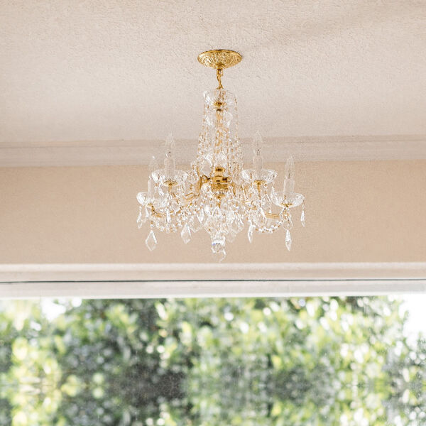 Maria Theresa Tall Five-Light Crystal Chandelier, image 7