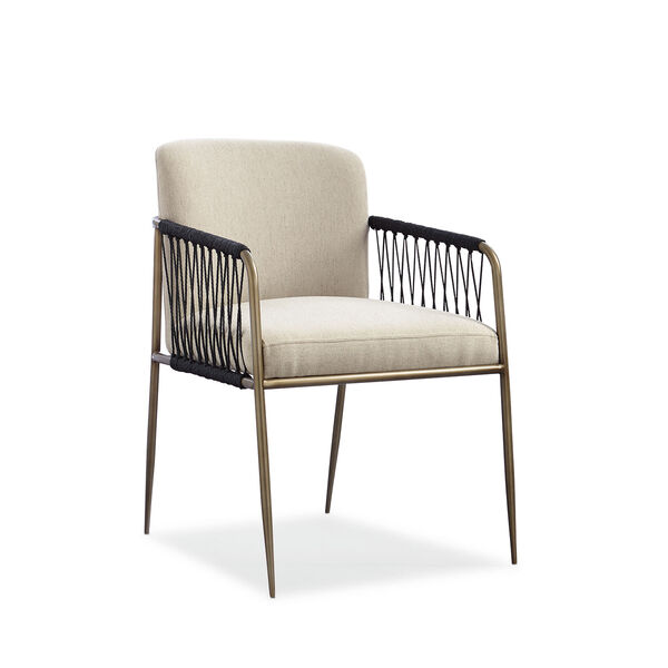 Modern Artisan Remix Beige Arm Chair, image 1