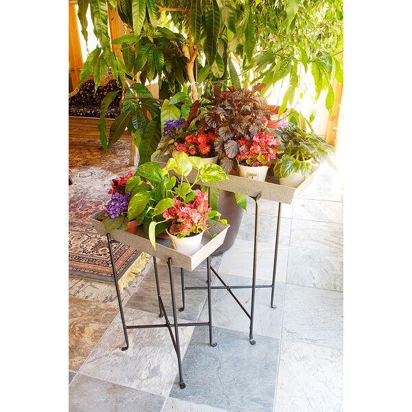 Antiqued Large Plant Tray, image 2