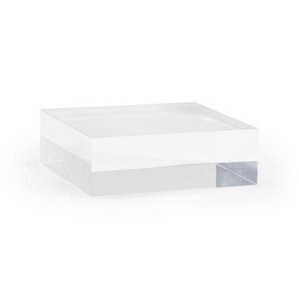 Clear Large Square Plinth, image 1