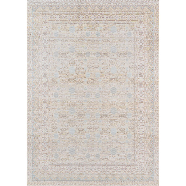 Isabella Oriental Blue Rectangular: 9 Ft. 3 In. x 11 Ft. 10 In. Rug, image 1