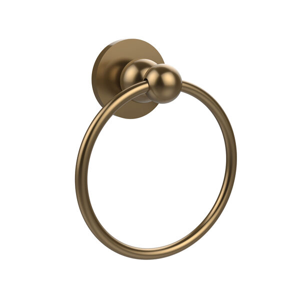 Brushed Bronze Towel Ring, image 1