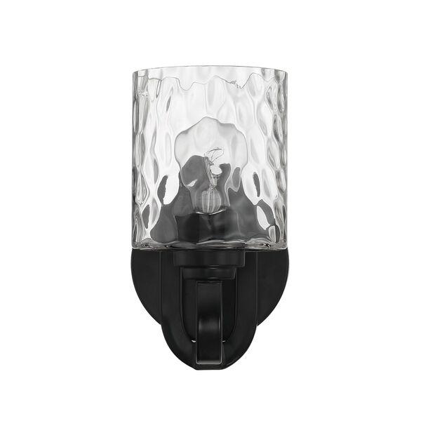 Collins Flat Black One-Light Wall Sconce, image 3