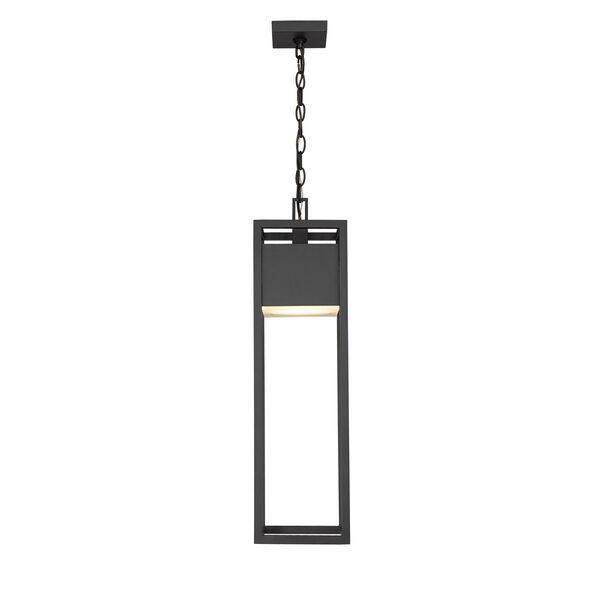 Barwick Black One-Light LED Outdoor Pendant, image 4