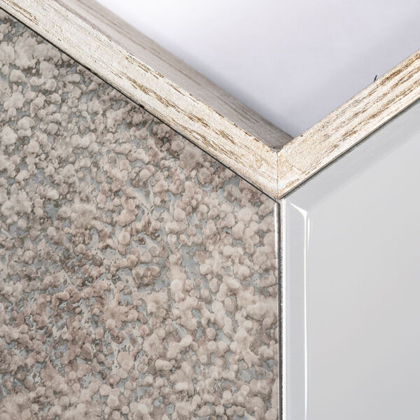 Cheveronna Brown 14-Inch Wood Frame Wall Mirror, image 4