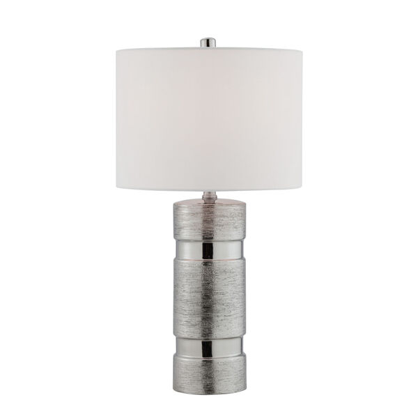 Lucano Silver Two-Light Table Lamp, Set of Two, image 4