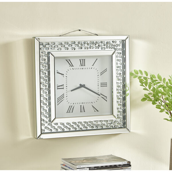 Sparkle Crystal 20-Inch Wall clock, image 4