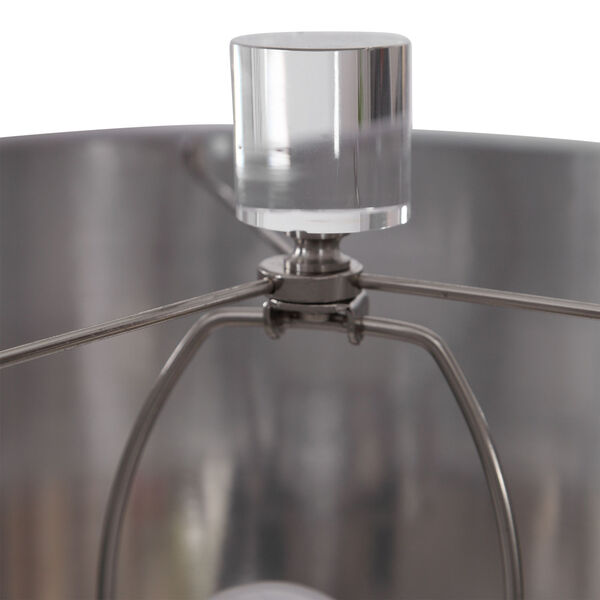 Anitra Metallic Silver 1-Light Table Lamp, image 3