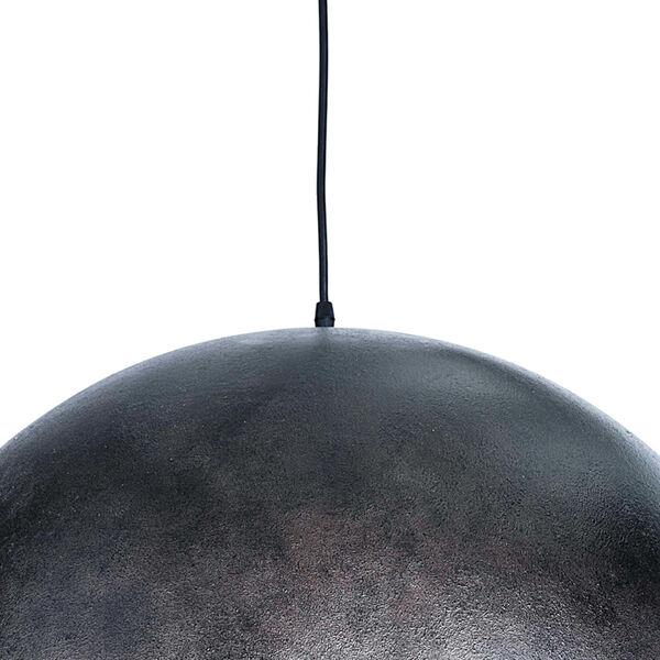 Sigmund Blackened Steel One-Light Pendant, image 4