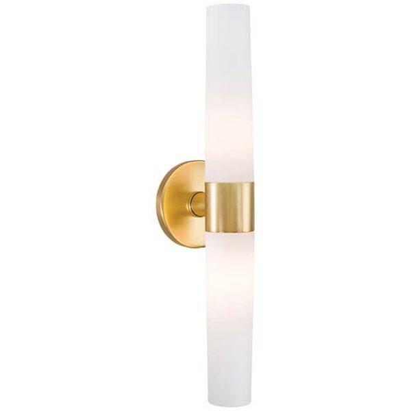 Stella Gold Two-Light Vanity, image 1