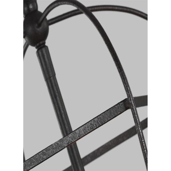 Stonington Smith Steel Three-Light Chandelier, image 5