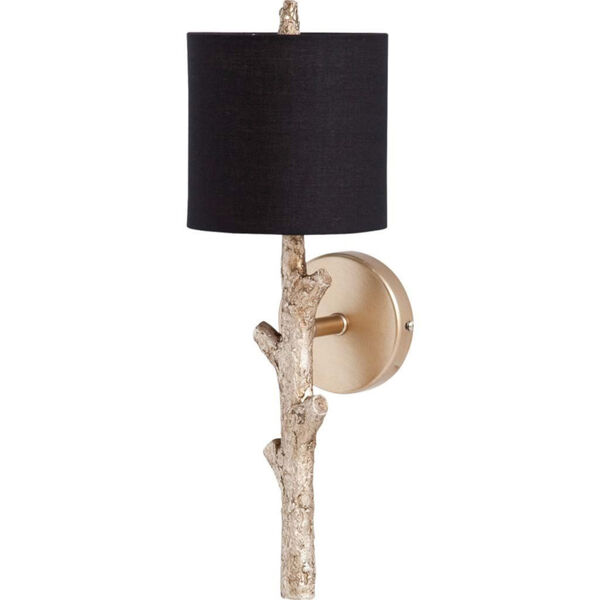 Sabinal II Black and Gold One-Light Wall Sconce, image 1