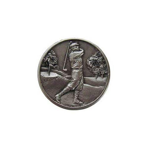 Satin Nickel Gentleman Golfer Knob , image 1