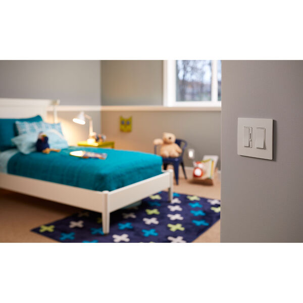 450W White CFL LED Single Pole 3-Way Dimmer, image 5