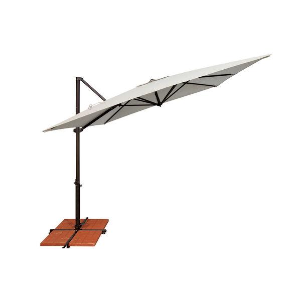 Skye Antique Beige and Black Cantilever Umbrella, image 2
