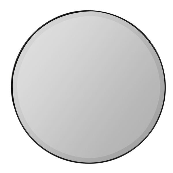 Sabine Matte Black 39-Inch Wall Mirror, image 1