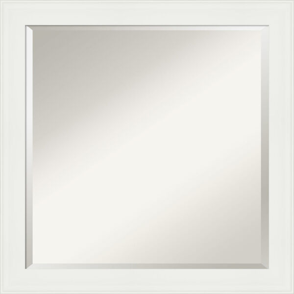 White 23W X 23H-Inch Bathroom Vanity Wall Mirror, image 1