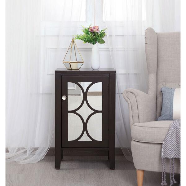 Modern Dark Walnut 18-Inch Cabinet, image 2