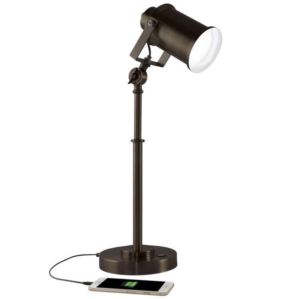 Restore Rubbed Bronze LED Desk Lamp, image 1