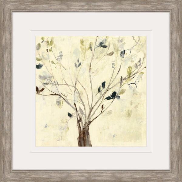 Trees of Blue II Neutral Framed Art, image 2