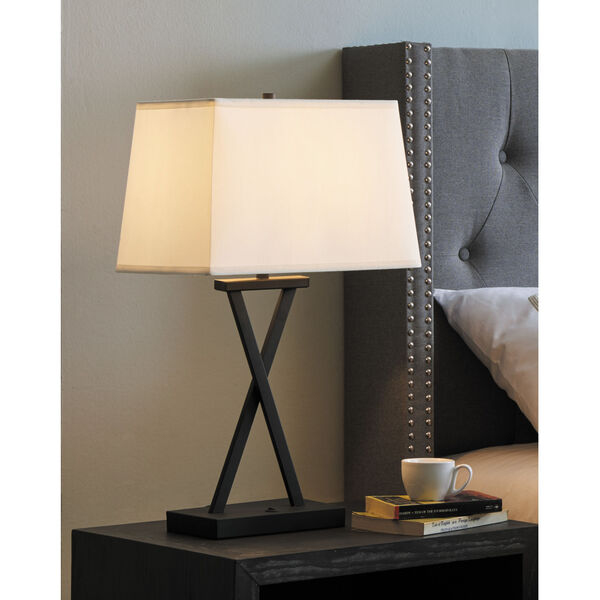 Maisie Black Two-Light Table Lamp, Set of Two, image 5