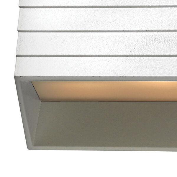 Matte White Landscape Deck Light, image 2