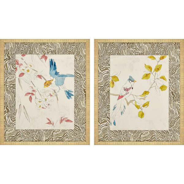 Rustic Paradise II Multicolor Framed Art, Set of Two, image 2