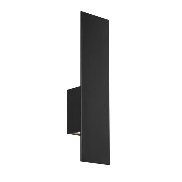 Icon Black 20-Inch 3000K Two-Light LED Outdoor Wall Sconce, image 1