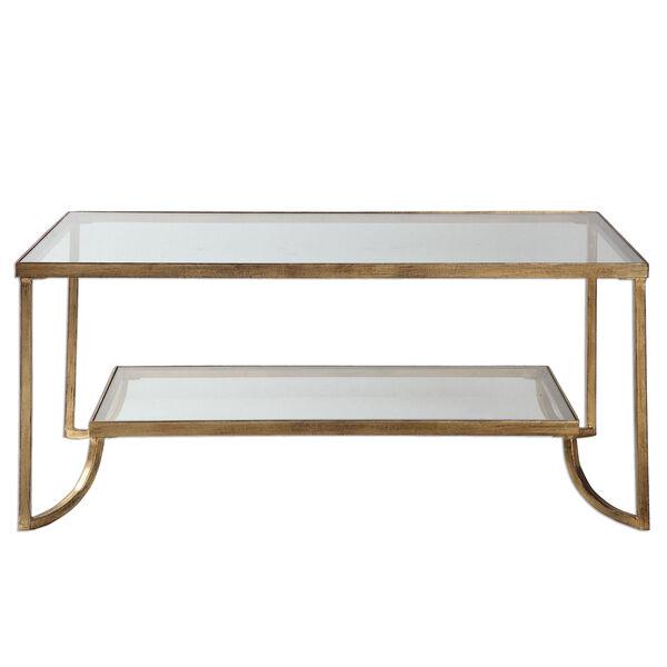 Katina Gold Leaf Coffee Table, image 1
